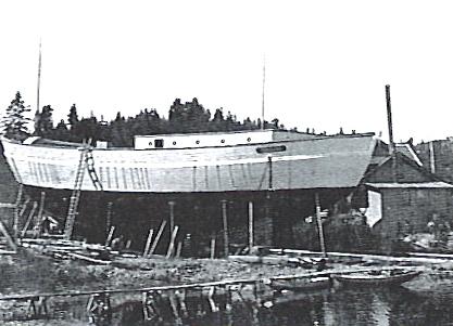 Launching Maud - Maudbukta, Vollen, Oslo Fjord