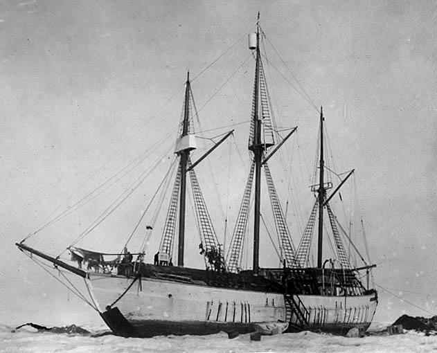 Maud Polar ship Arctic Roald Amundsen