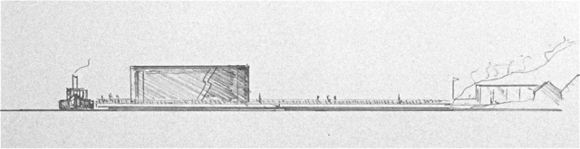 The first museum sketch - Maud Museum