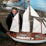 Maud-retur vekker begeistring i hele Norge